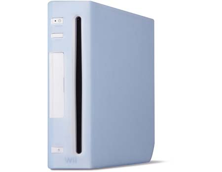 SPEEDLINK Console Secure Skin for Nintendo Wii, Blue (SL-3450-TBE)