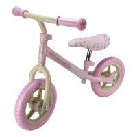 FUNBEE Children's Metal Balance Bike, Ages Two Years and Above, Girl, Pink (OFUN83)